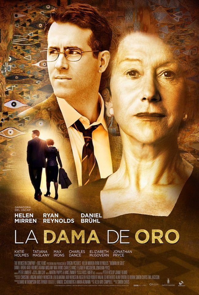 La Dama De Oro Carteleras De Cine Peliculas En Cartelera Peliculas Cine