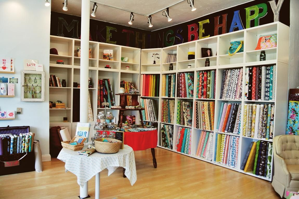 clintonville: dabble & stitch sewing shop and sew-op #sew #sewing #ohio #local