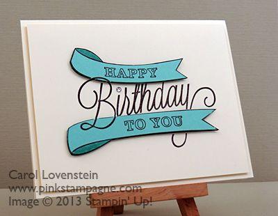 Stampin' Up! - Carol Lovenstein Sneak Peak – Another Great Year (Part 1)