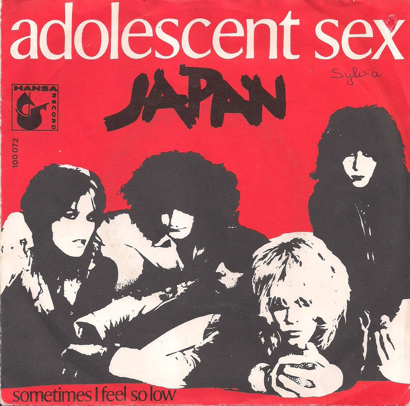 Japan adolescent sex cd covers
