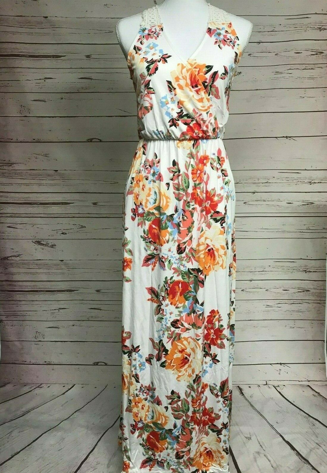 NWT Small Women's Floral Dress Summer Boutique Top