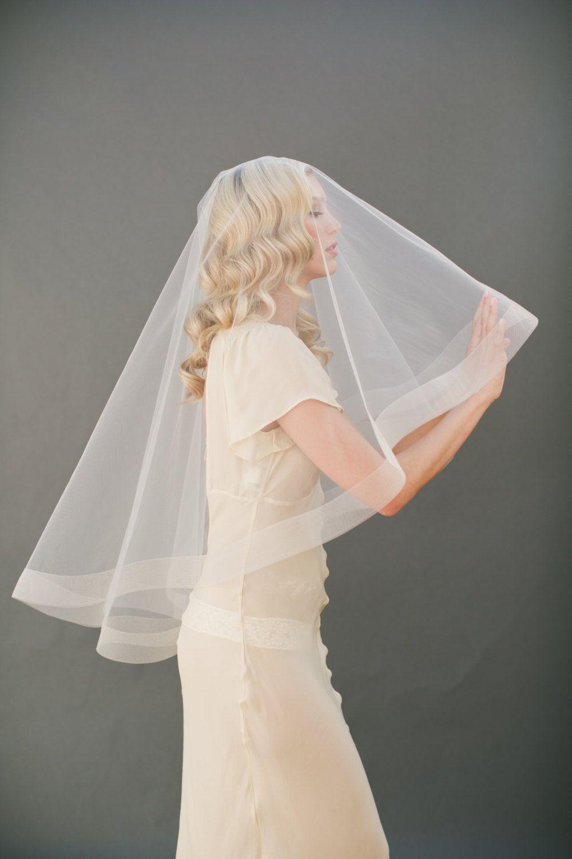 Pin By Veiled Beauty On Wedding Dress Wedding Veils Short Long Veil Wedding Bridal Veil [ 1500 x 1000 Pixel ]