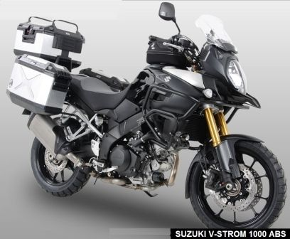 2014 suzuki dl1000 v-strom fully kitted out (almost)motorcycle