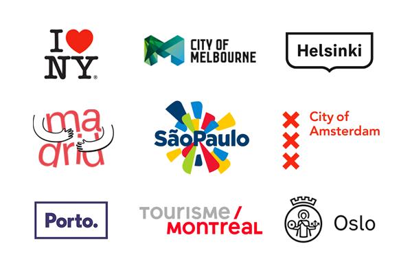 Best City Logos Tourism Branding City Logos Branding City