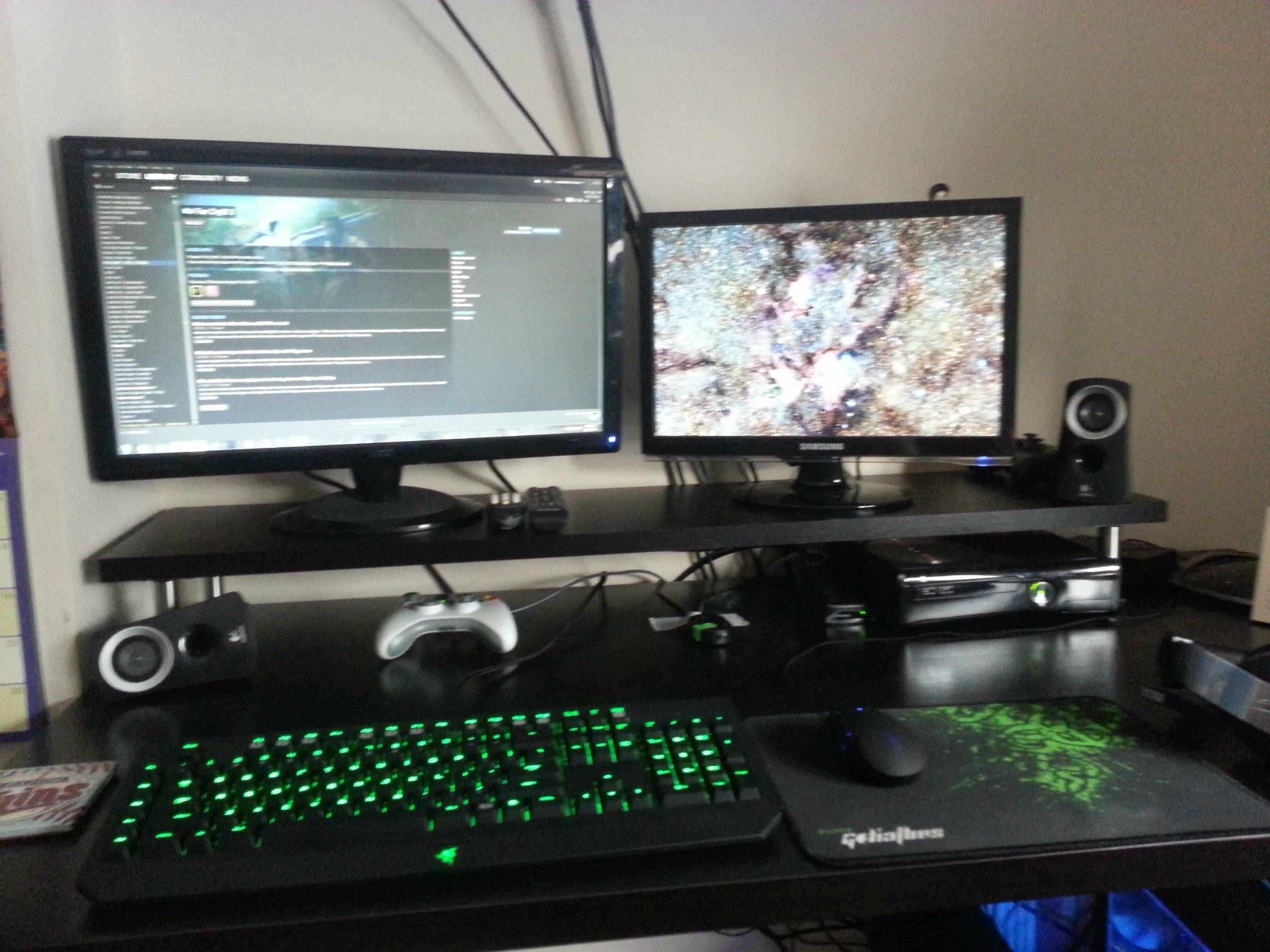 Superieur 15 Remarkable Computer Desks For Gamers Image Ideas