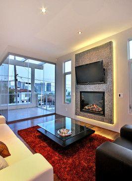 Urban Contemporary Showcase  Contemporary  Living Room  San Glamorous The Living Room San Diego Inspiration Design