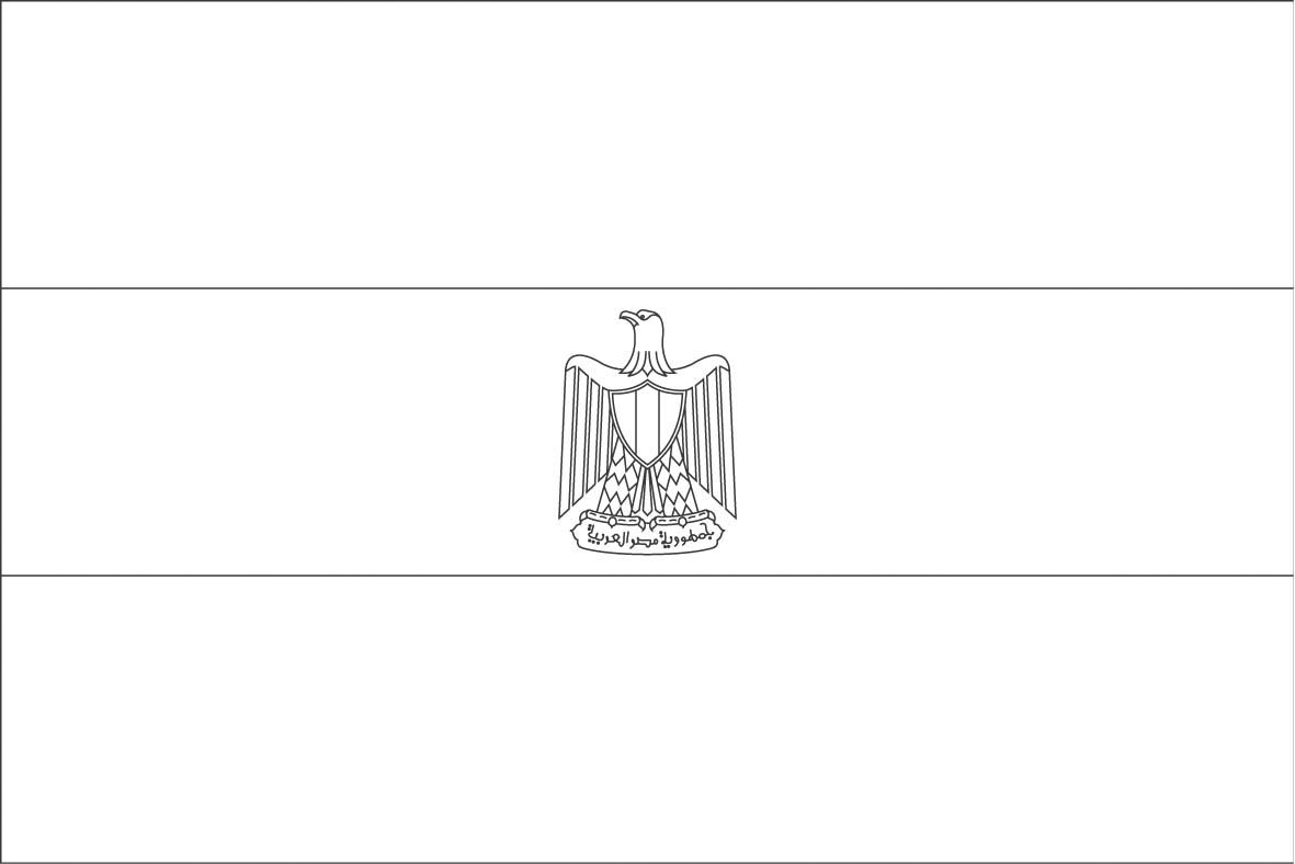 Egypt Flag Coloring Page Sonlight Core C Window On The World