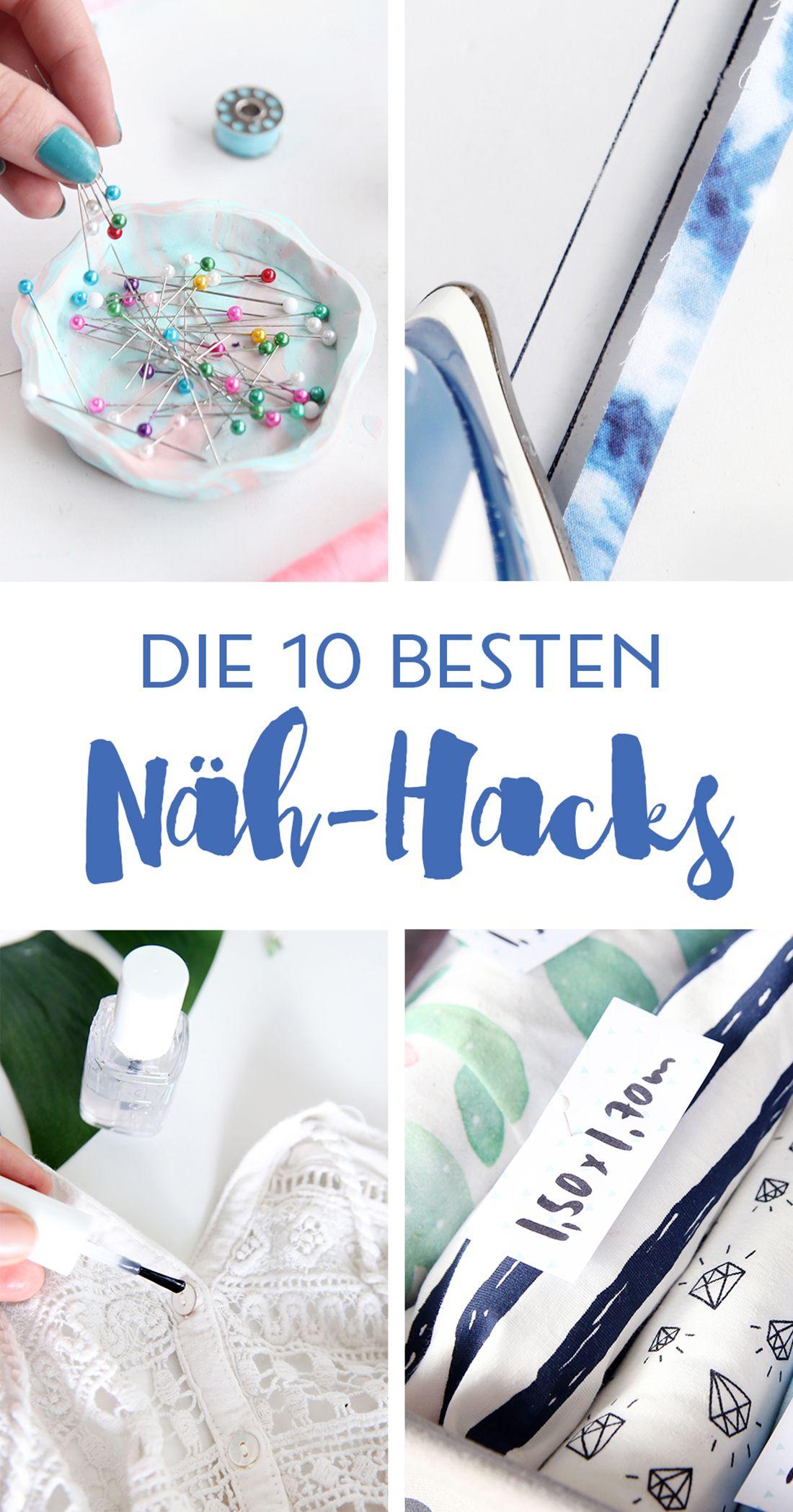 10 Näh-Hacks: Die besten Tricks rund ums Nähen | Blog
