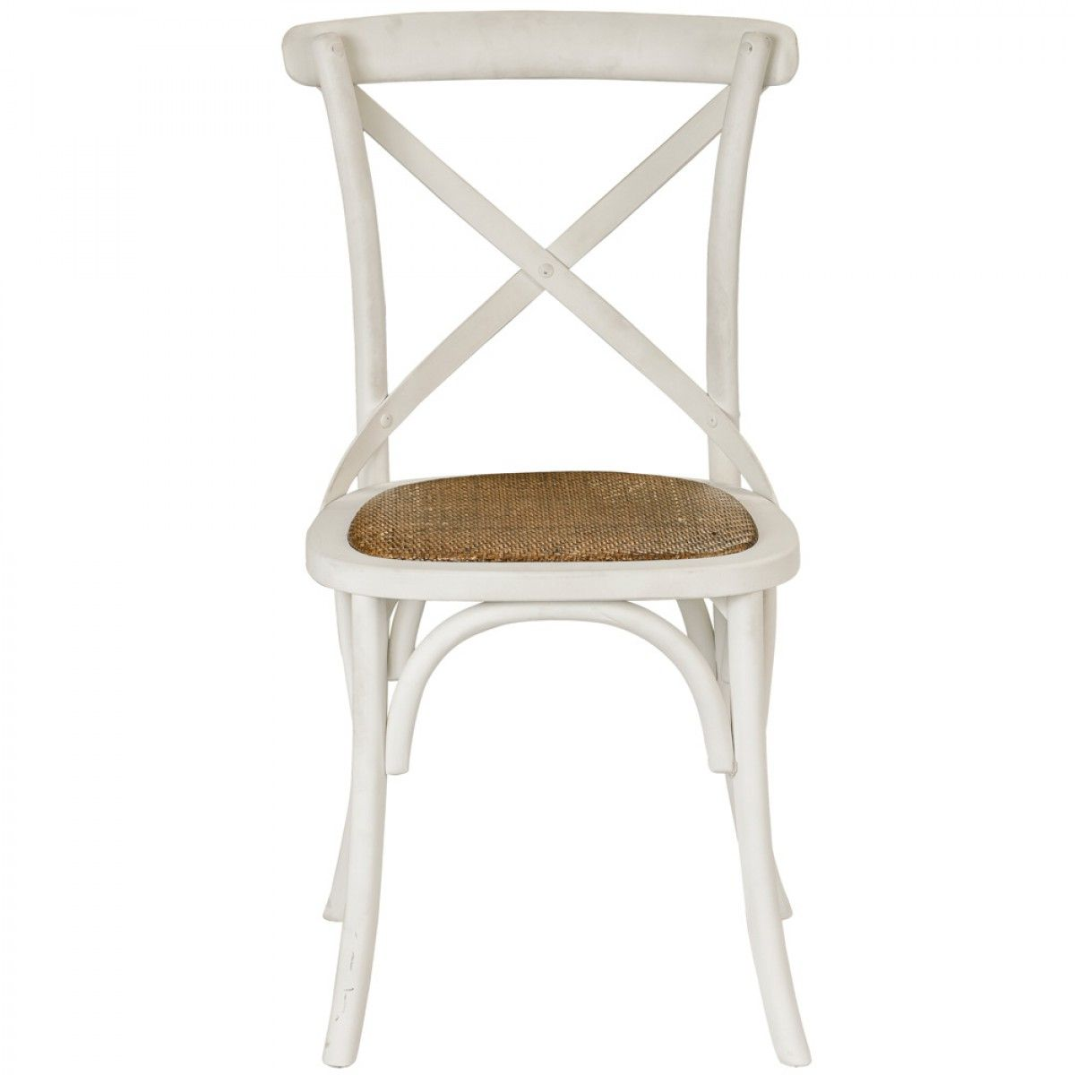 cross back dining chairs. Provincial Cross Back Chair Vintage White - Chairs \u0026 Barstools Dining D