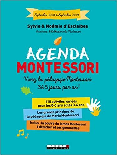 Amazon Fr L Agenda Montessori Vivez La Pedagogie