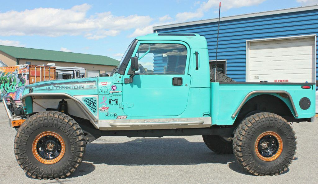 1997 Jeep Wrangler Brute Truck Offroad 4 4 Rock Crawler For Sale