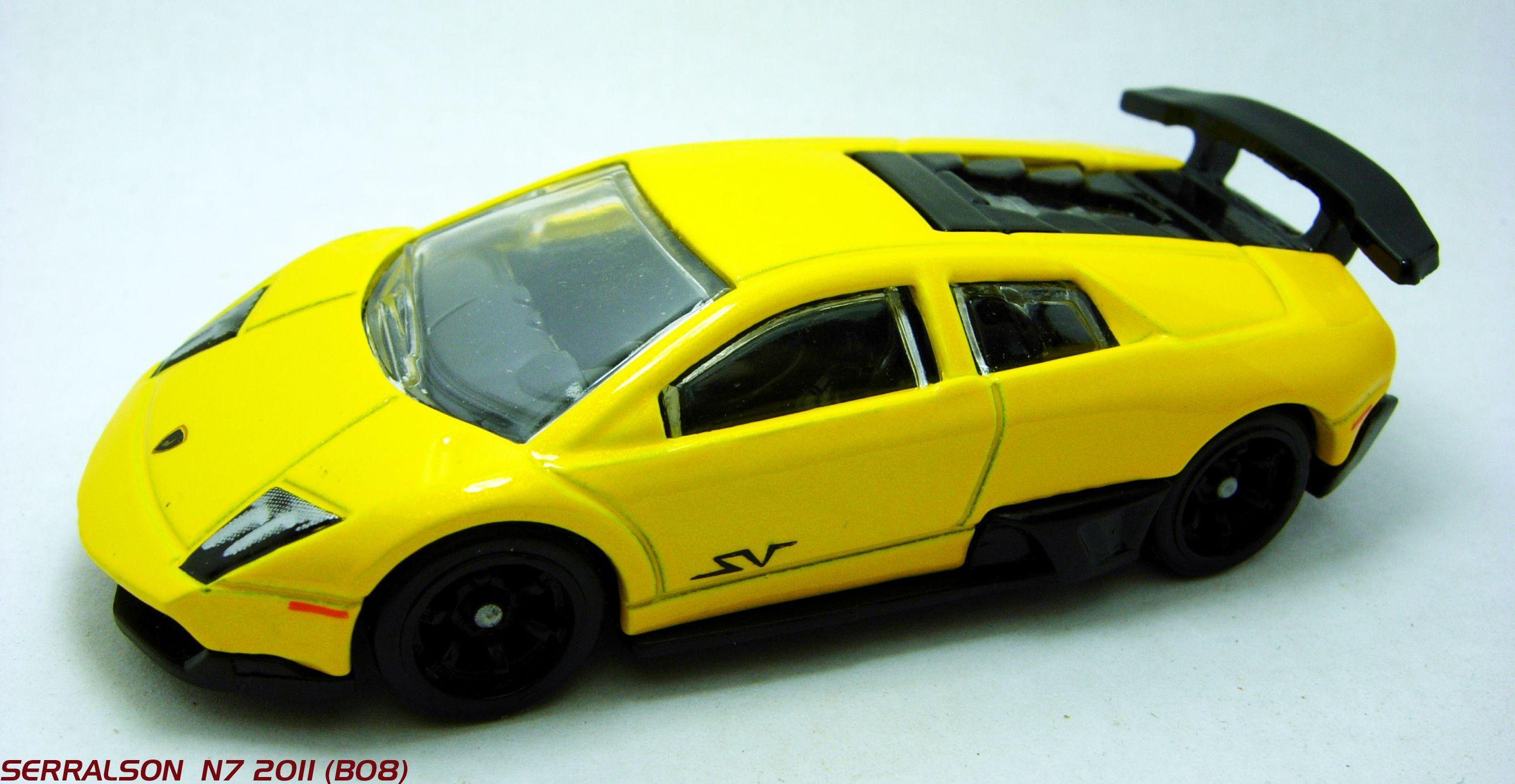 Murciélago LP 6704 SV Hot wheels, Hot