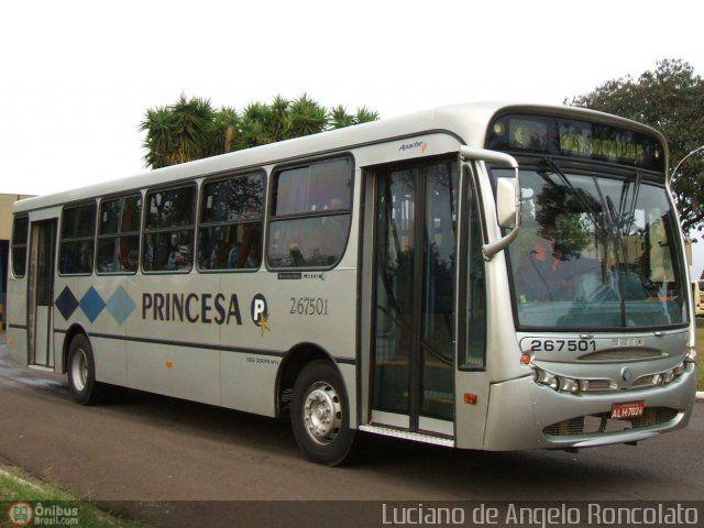 Ônibus da empresa Princesa do Norte, carro 267501, carroceria CAIO Apache Vip I, chassi Mercedes-Benz OF-1721. Foto na cidade de Ourinhos-SP por Luciano de Angelo Roncolato, publicada em 04/05/2011 18:21:13.