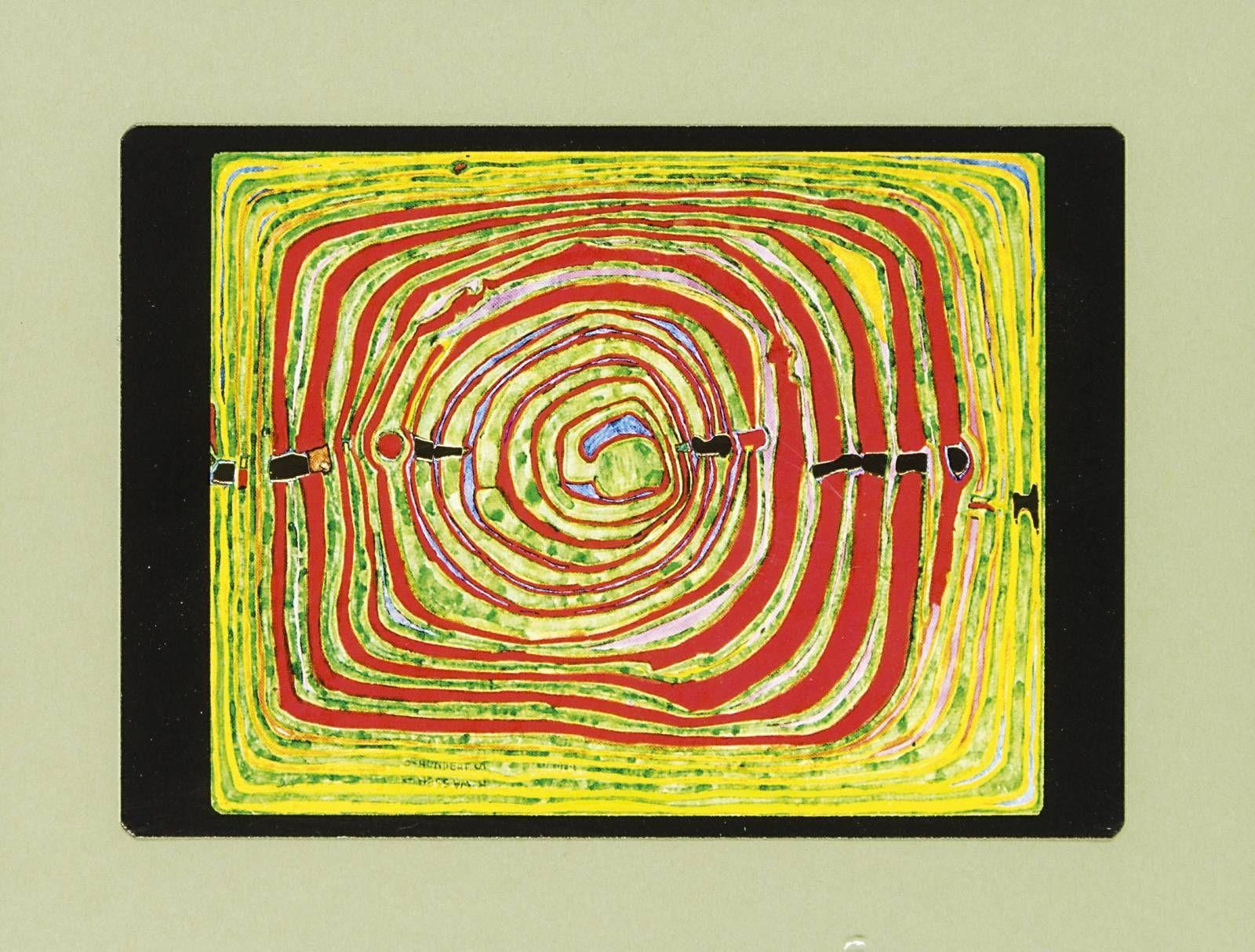 Výsledok vyhľadávania obrázkov pre dopyt Friedensreich Hundertwasser - Labyrinth