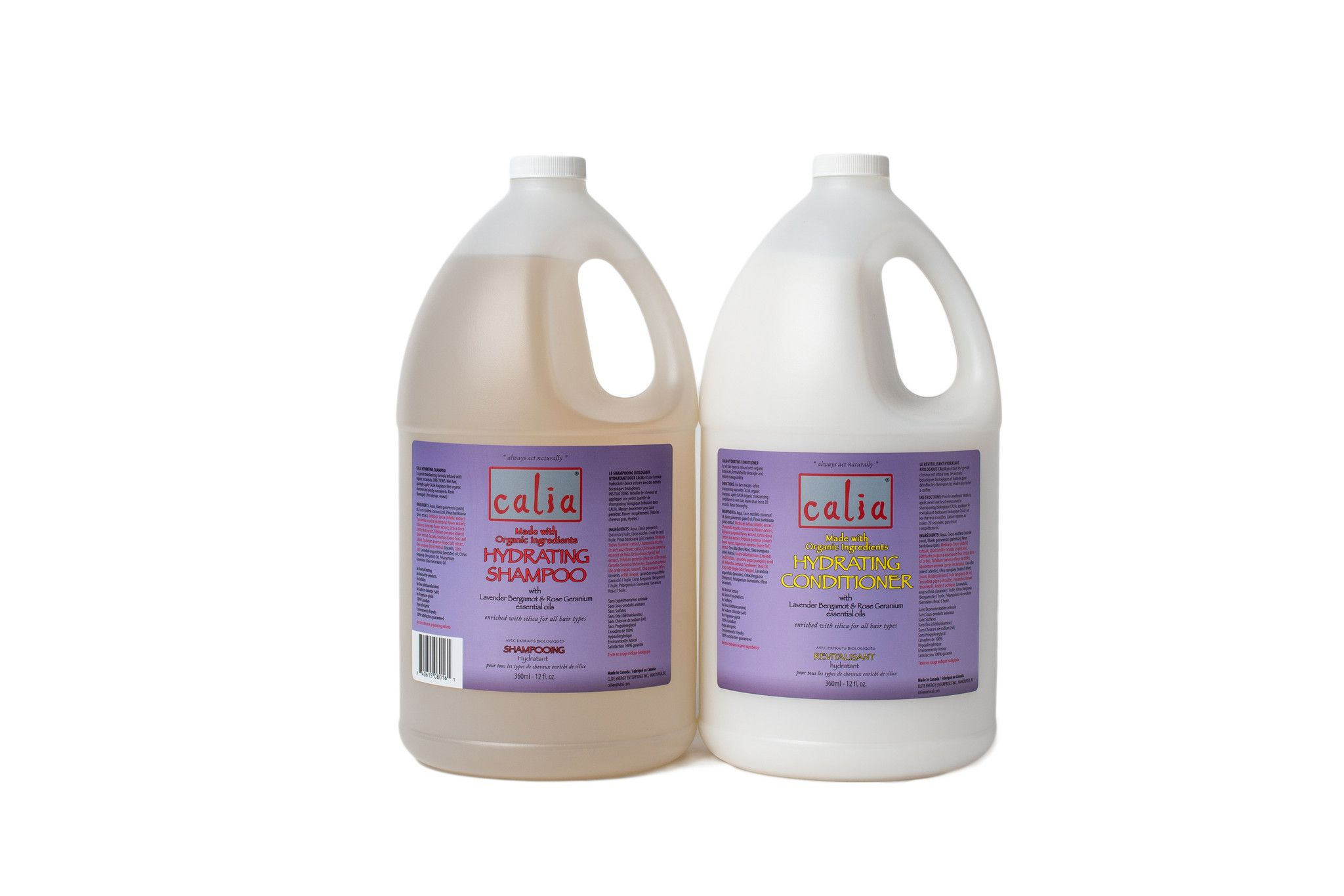 Hydrating Shampoo & Conditioner Combo Value Pack Jugs
