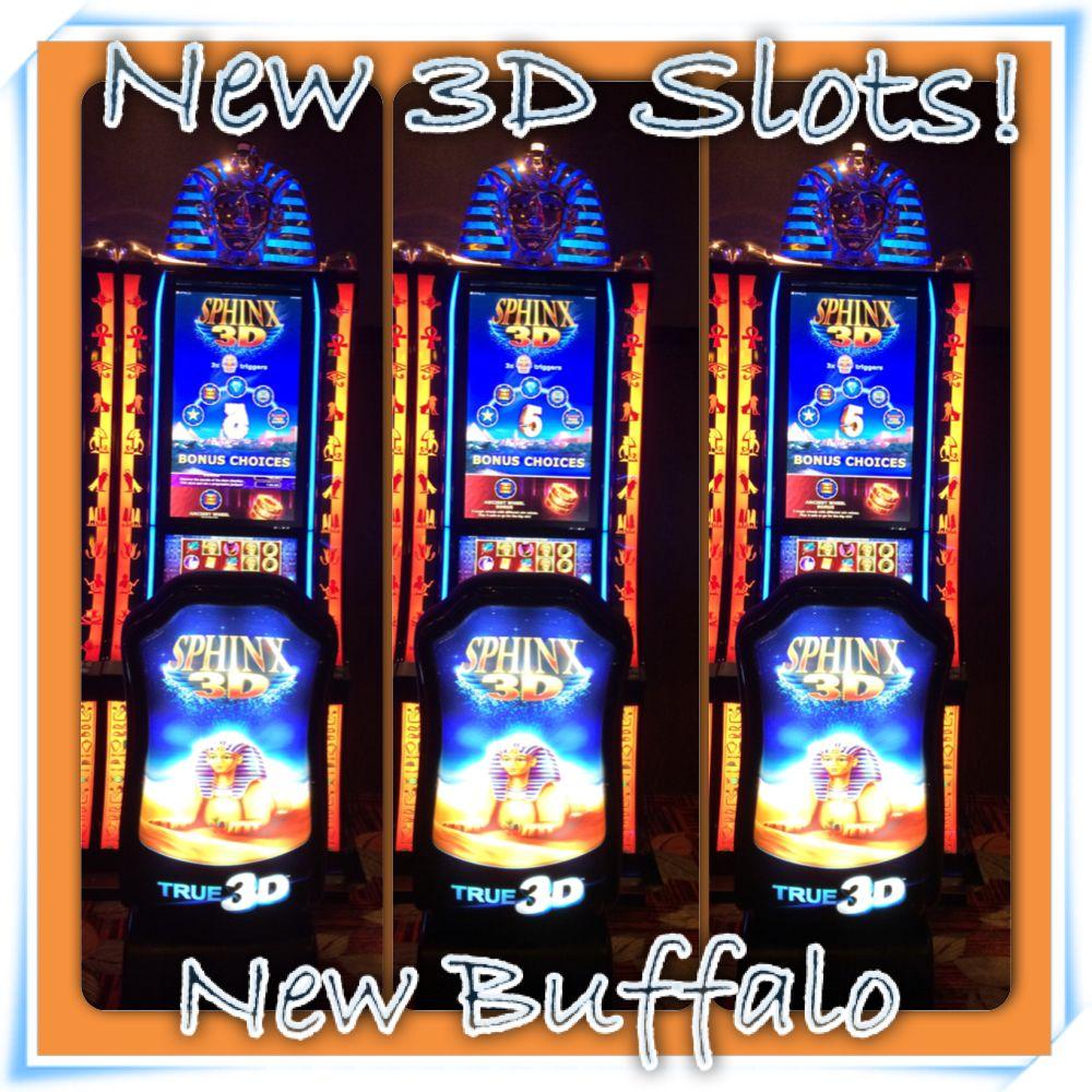 3D Slots at New Buffalo! New buffalo, Casinos in