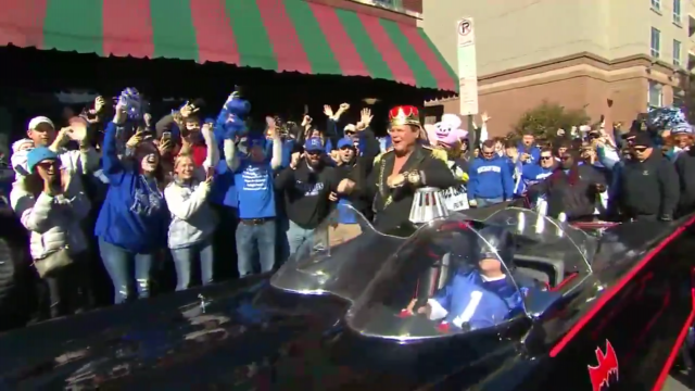 Jerry Lawler Arrives On ESPN College Gameday In The