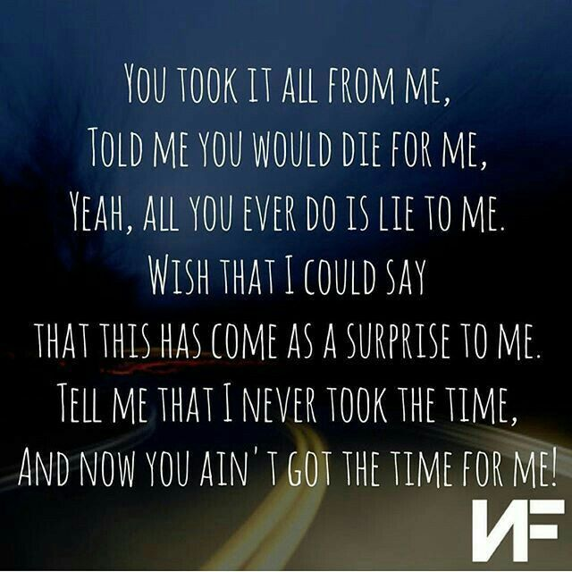 I Just Wanna Know When Did You Get So Cold Nf Lyrics Nf Quotes Music Quotes Lyrics