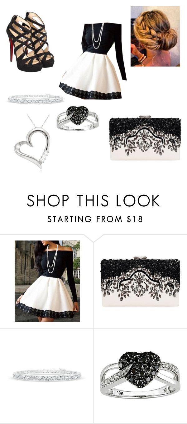 """""""Untitled #53"""" by a-hidden-secret ❤ liked on Polyvore featuring Christian Louboutin and Ice"""