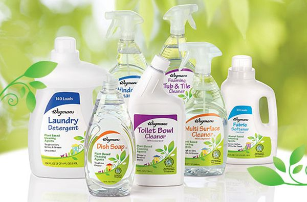 Wegmans Launches Plant Powered Cleaners Safe Cleaning Products