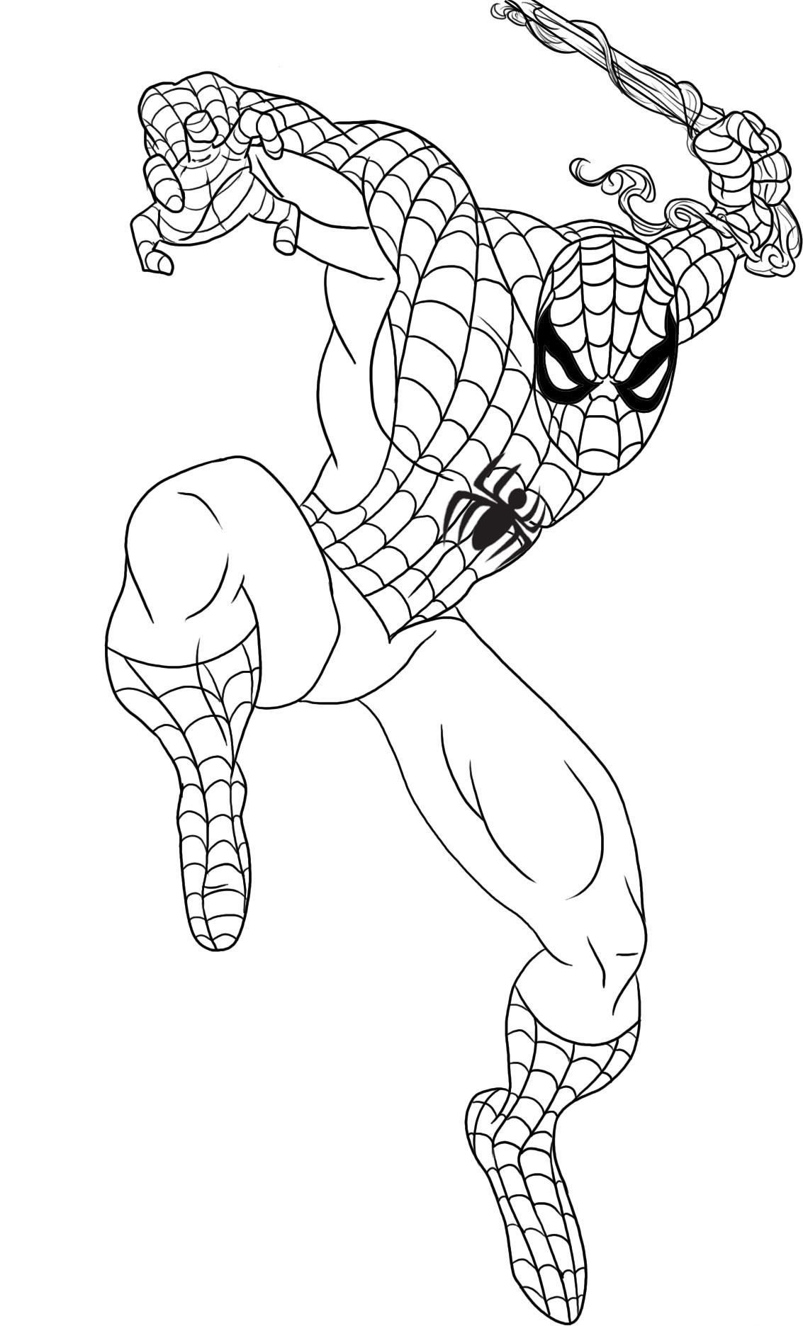 Printable-Coloring-Pages-Spiderman.jpg (1133×1872) | Coloring pages ...