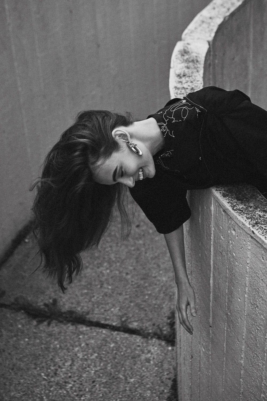 SWEPT AWAY / BROGAN CHIDLEY | Fashion Editorial: Black