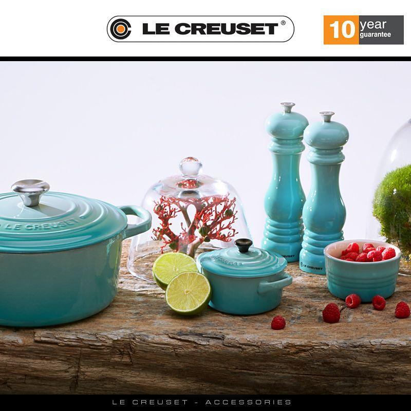 Image result for Le Creuset salt and pepper mills Cool Mint