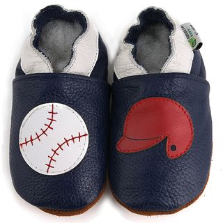 Baseball Soft Sole Leather Baby Shoes by Augusta Baby | Shopping ...