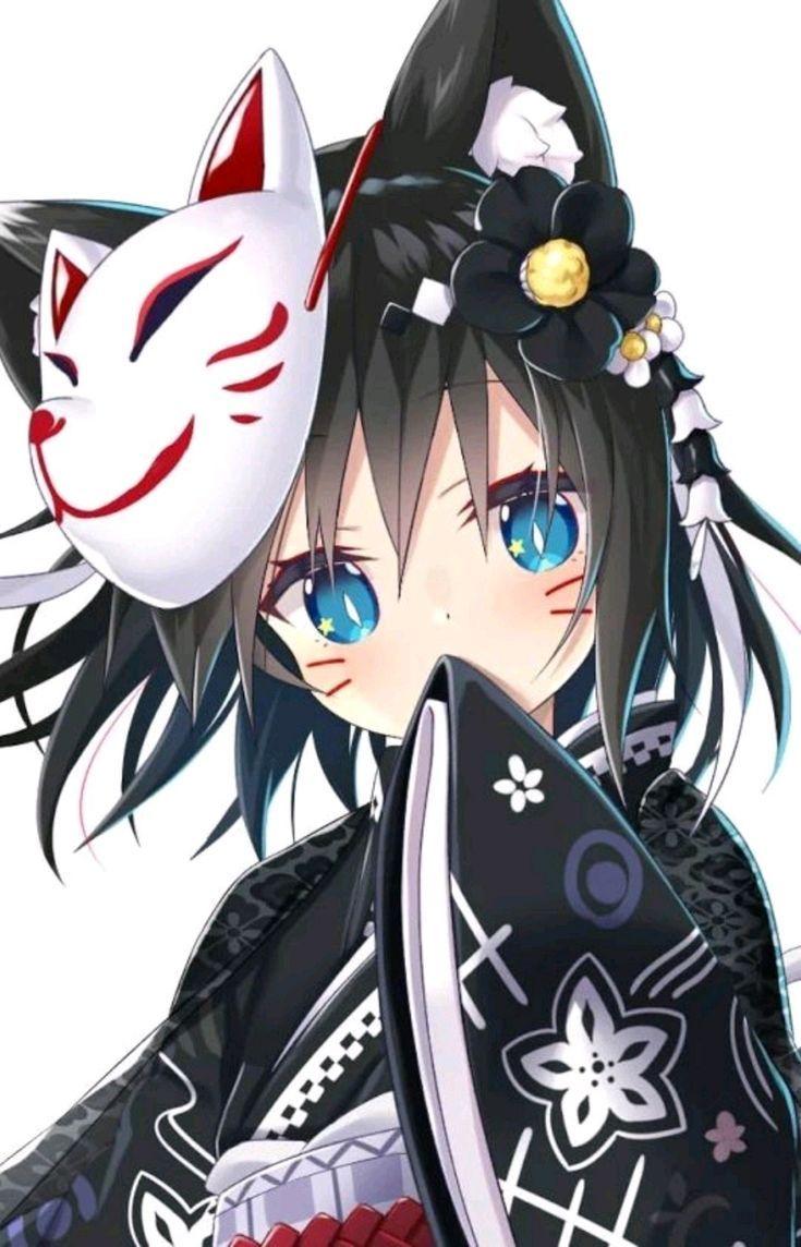 Pin by Angelina Reppas on Lol  Anime wolf girl, Kawaii anime, Anime