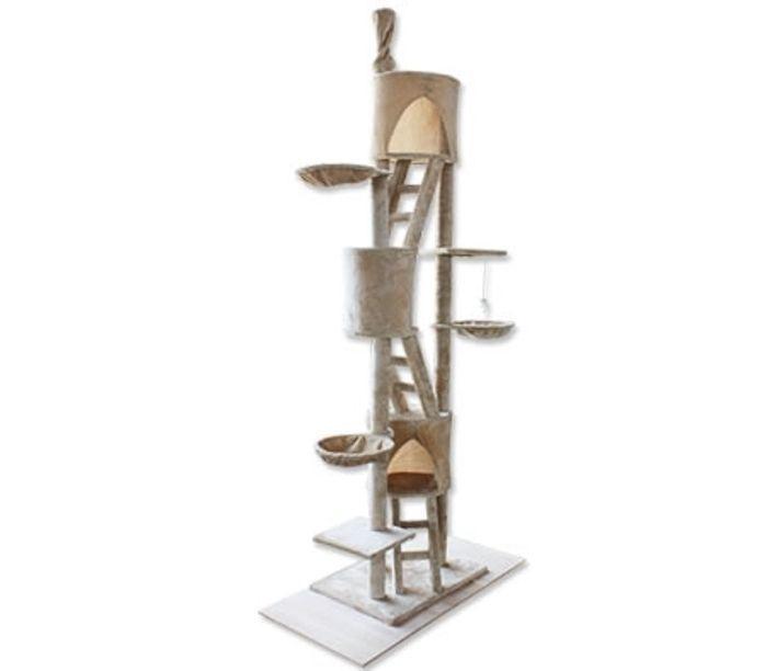 Tall Cat Kitty Kitten Fun Play Tree Scratching Carpet Pole Post Furniture Pillar $190