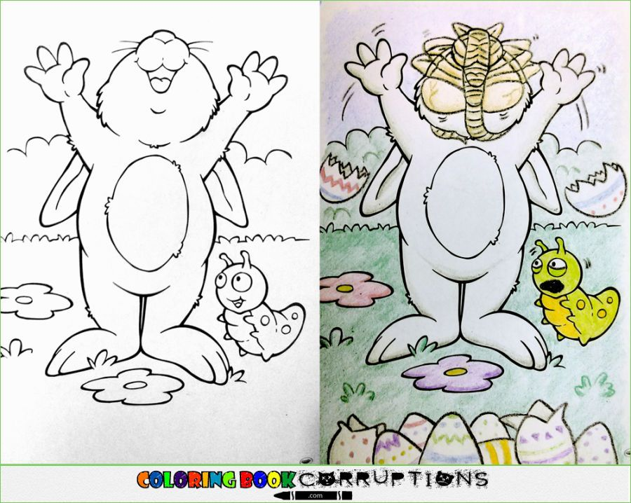 25 Disturbing Coloring Book Corruptions With images
