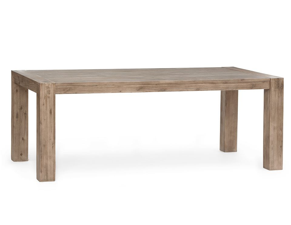 STRUCTUBE - Hamburd (table en acacia massif) - 749$ 65u0027 ou 700$ 60 - table de salle a manger grise