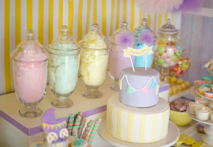 High Quality Baby Shower Party Favors | Fairyfloss Cotton Candy Baby Shower Party Ideas  Supplies Idea Girl