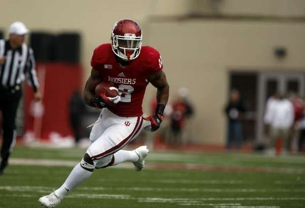 Indiana S Stephen Houston Runs In A Touchdown Against Michigan State During A College Football Game At M College Football Games Football Helmets Football Games