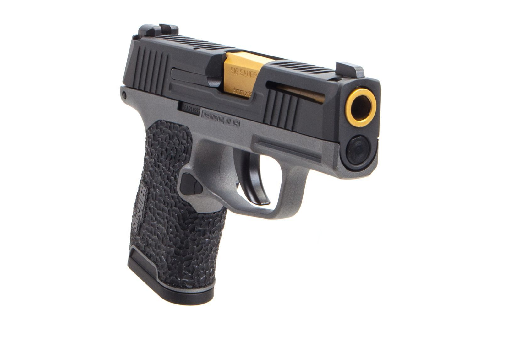 The first custom Sig Sauer P365 Nitron has broken cover  The