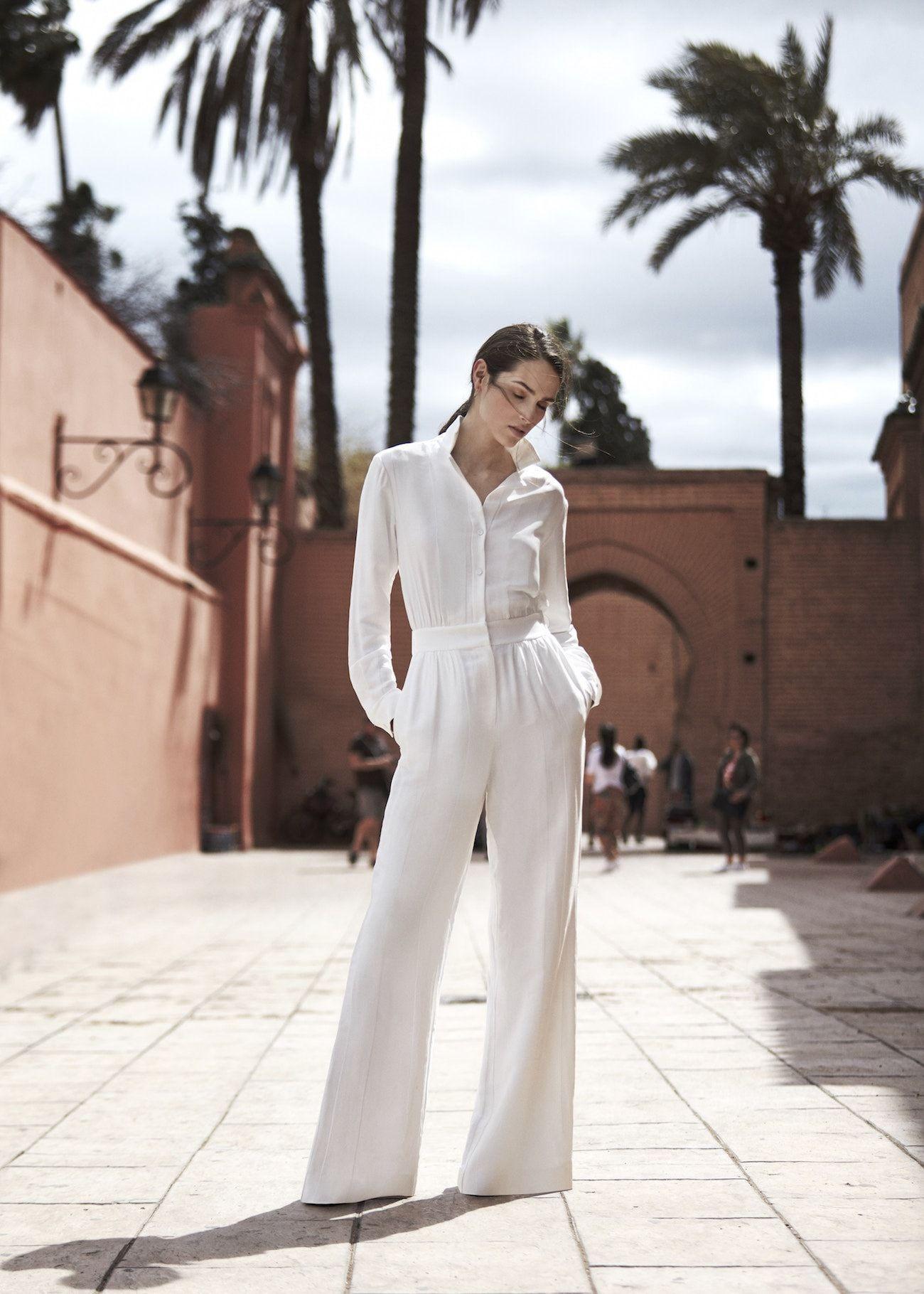 b5e9bb401d5 Reiss Juno Wide-leg Jumpsuit Wedding Guest Outfit