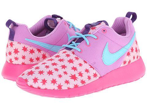 Nike Kids Roshe Run Print (Big Kid) Prism Pink/Fuchsia Glow/Pink