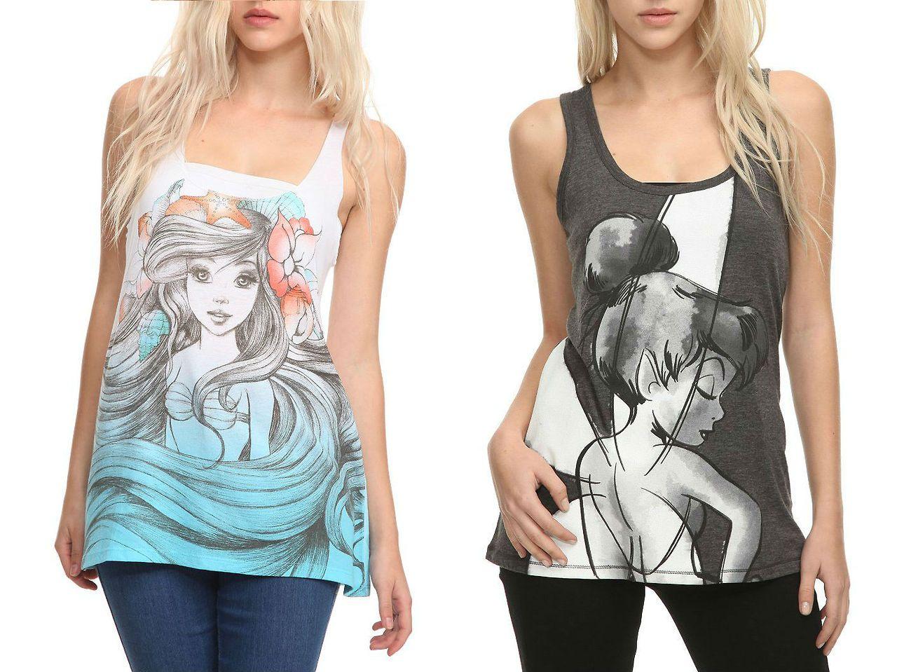 cute women's tank tops | Who Designed It? - Disney Women's ...