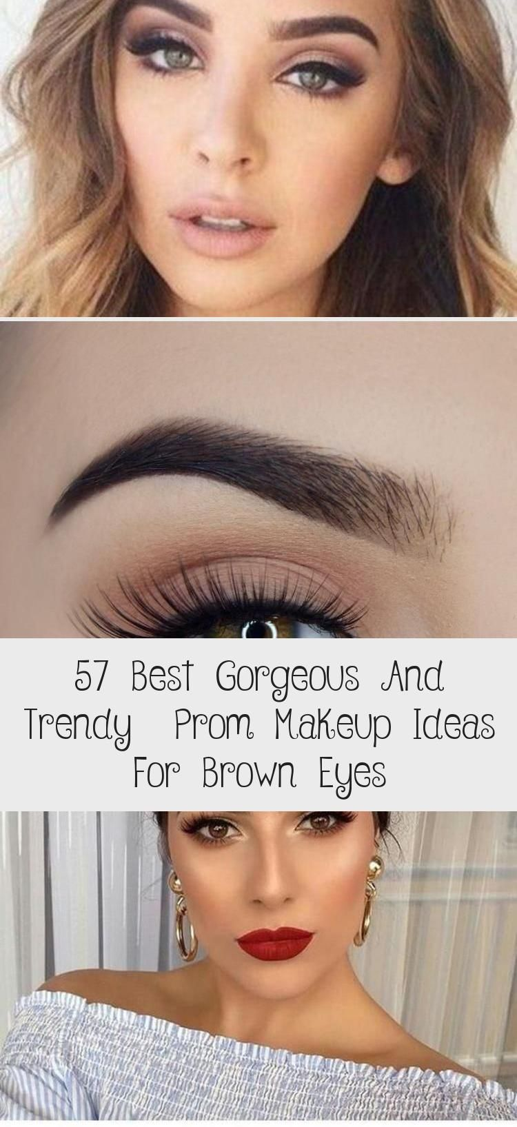 Photo of 57 Best Gorgeous And Trendy  Prom Makeup Ideas For Brown Eyes – Eye Makeup
