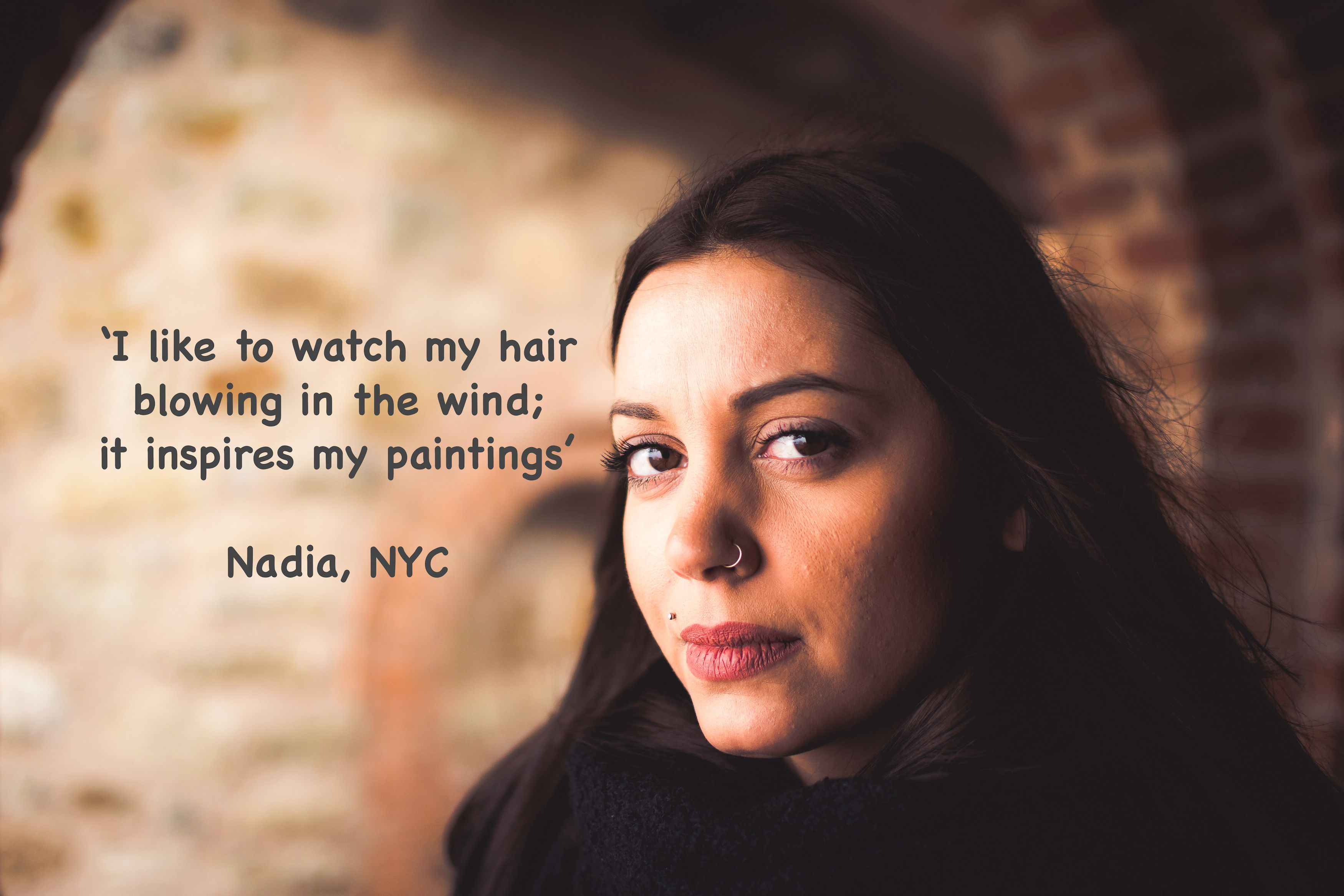 Swelling under nose piercing  Hair stories from our members uc  Women Hair and Entrepreneurship