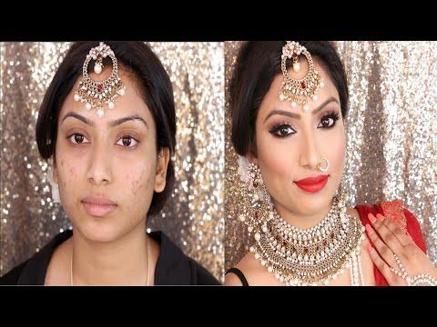 Indian Bridal Full face Makeup Tutorial | Gurp Dhaliwal - Hi everyone here is another Indian/South Asian/Bollywood makeup tutorial! I hope you enjoy it!