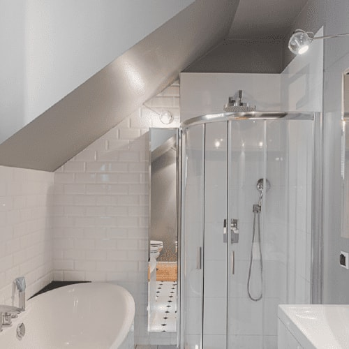 small bathroom ideas  pittsburgh paints  stains  small