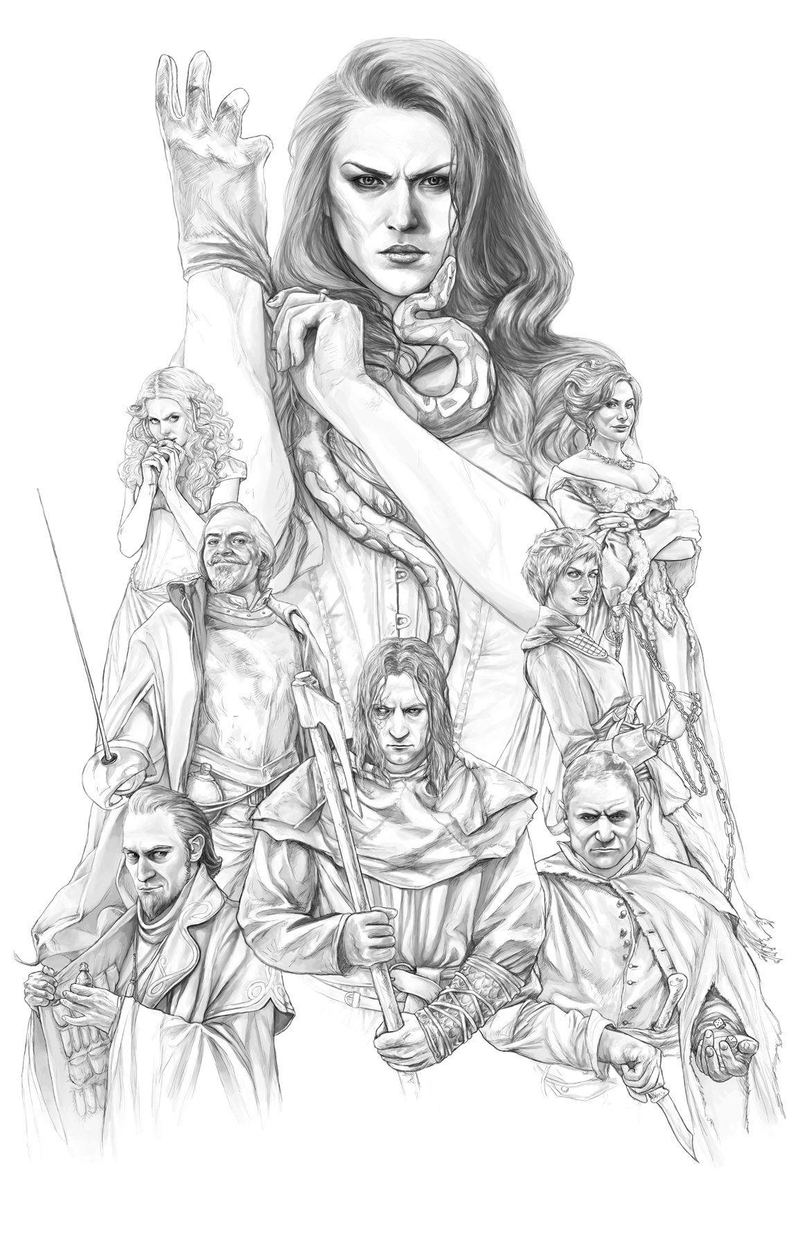 Best Served Cold, Darya Kuznetsova | Character art, Art, Female character  design