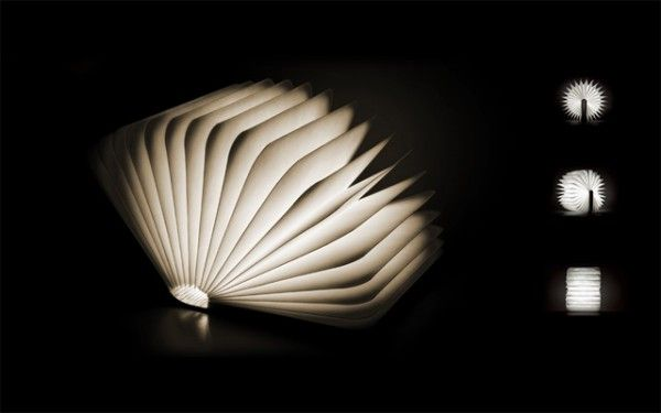 Lumio: A Portable Light That Folds Up Like a Book