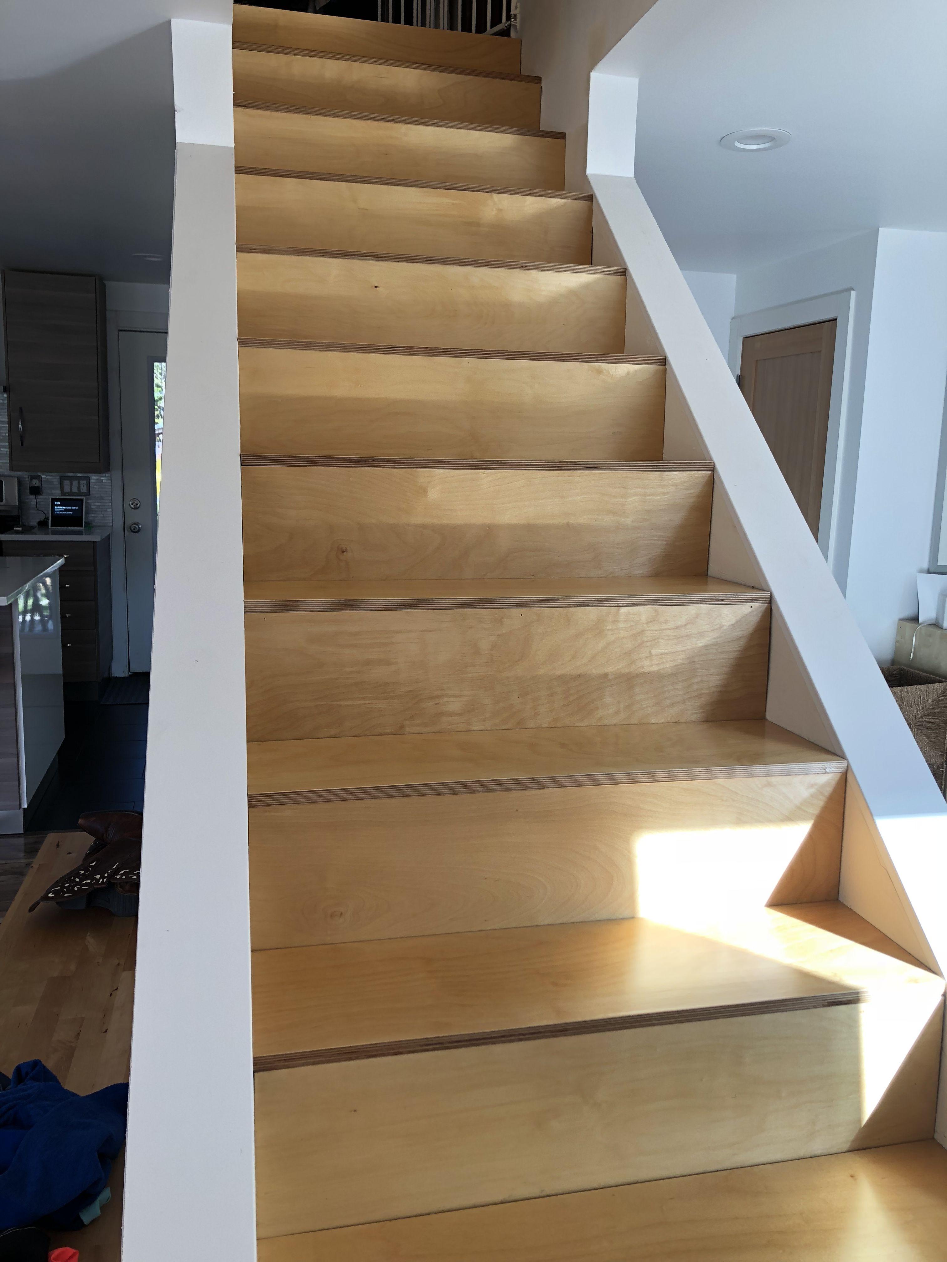 3 4 Baltic Birch Plywood Tread 1 4 Baltic Birch Plywood Riser