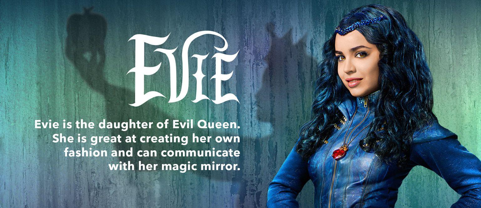 Descendants - Movie Homepage - Character Slider - Evie ...