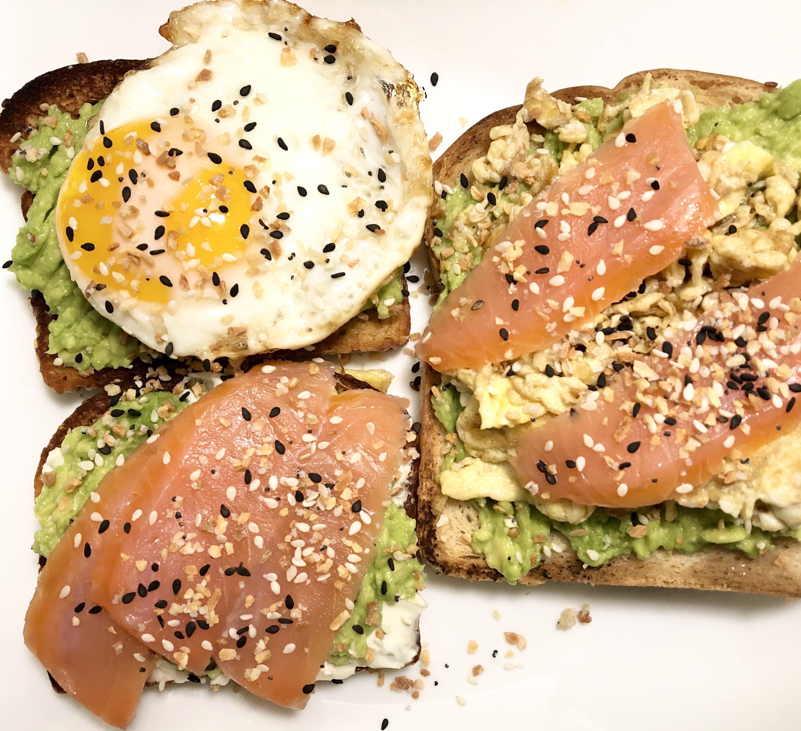 Avocado Toast Avocado Toast Avocado White Bread