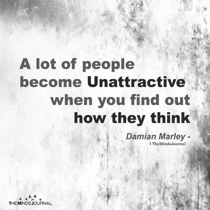 A Lot Of People Become Unattractive Thought Cloud Pinterest