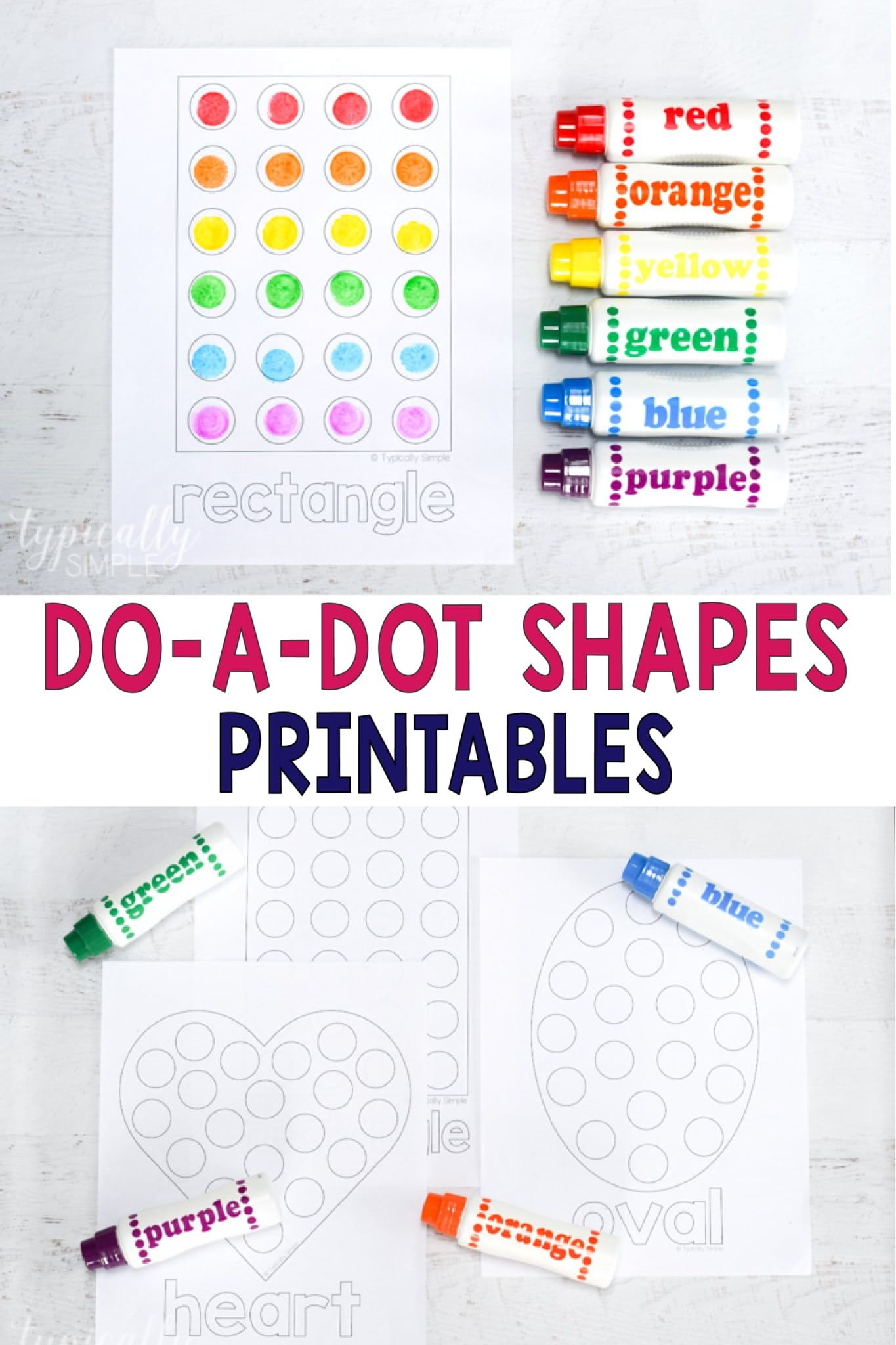 Dot Shapes Printables In With Images