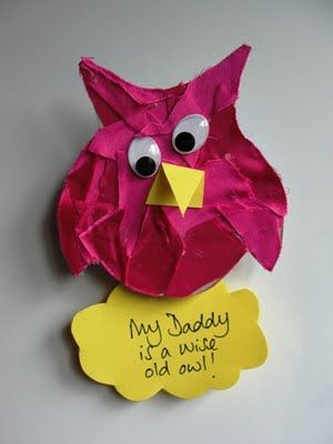 Father's Day Craft -- memo